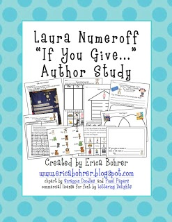 Erica Bohrer's First Grade: Laura Numeroff Author Study