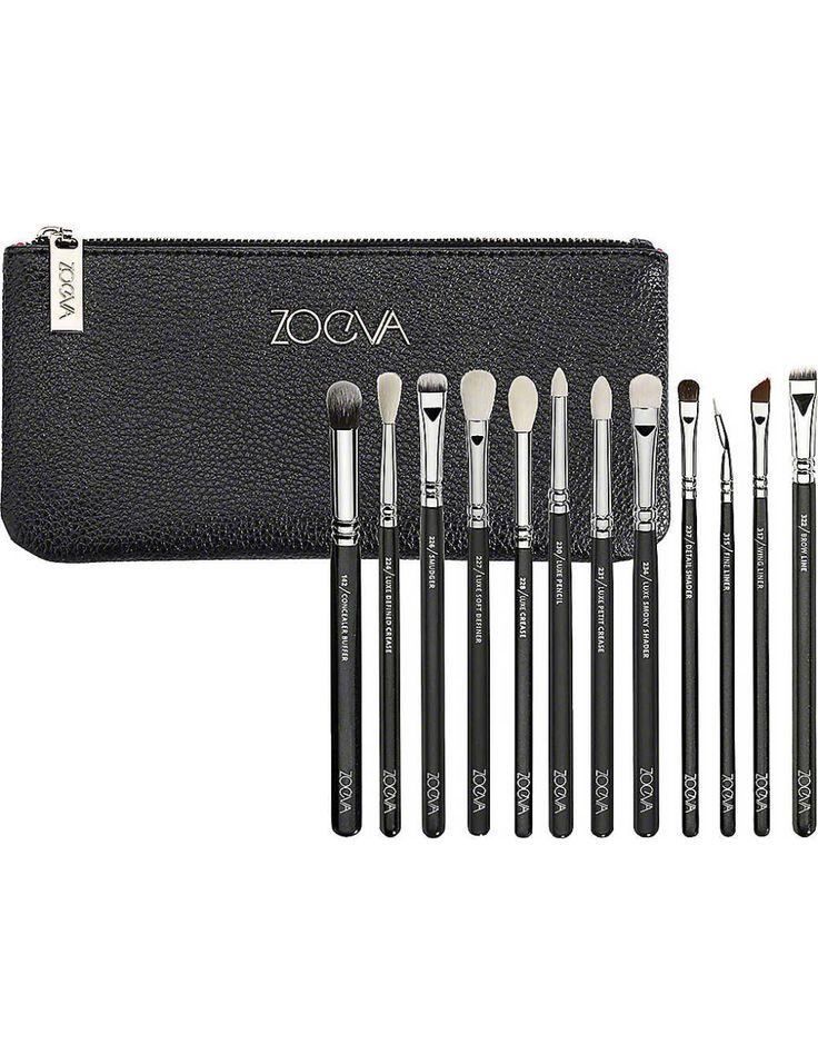 ZOEVA Complete eye set Eye makeup brushes set