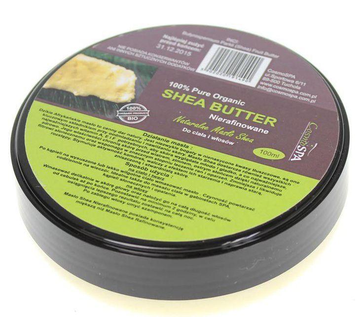 CosmoSPA Shea Butter Nierafinowane Masło Shea 100 ml