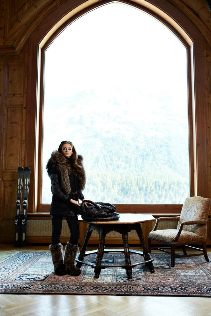 Picture yourself in one of our beautiful #luxury apres ski pieces! www.gorskifurs.com