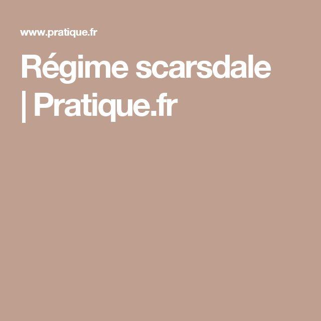 Régime scarsdale |Pratique.fr