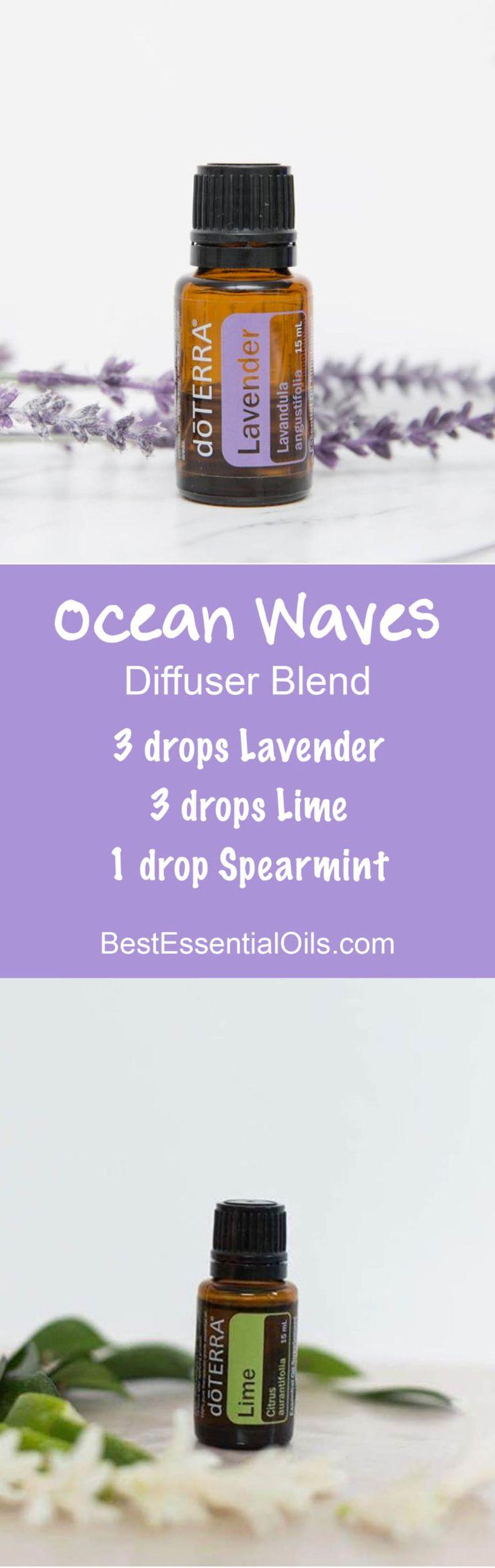 Ocean Waves doTERRA Diffuser Blend