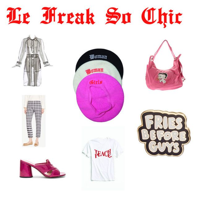 """""""Le Freak So Chic"""" by thestyleclub on Polyvore featuring Ann Taylor, Marc Jacobs, ban.do and Betty Boop Signature Product"""