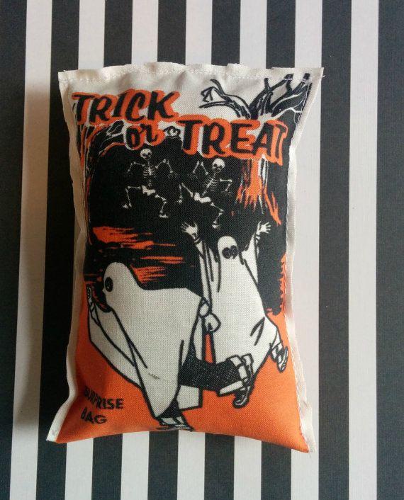 Vintage Style Halloween Trick or Treat Catnip by GraveEndeavours
