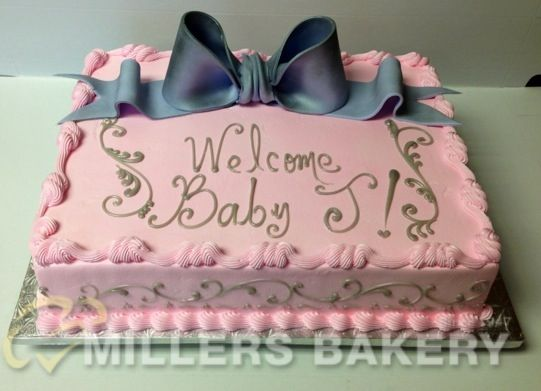 Baby Shower   Miller's Bakery   Custom Cakes For Any Occasion -Serving Bergen County NJ Since 1947