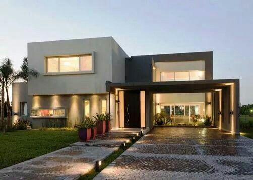 Pin by mar a jos guerra on casas pinterest house - Construcciones de casas modernas ...