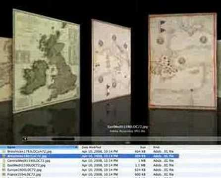 Vintage, Antique, Historical Map Collections