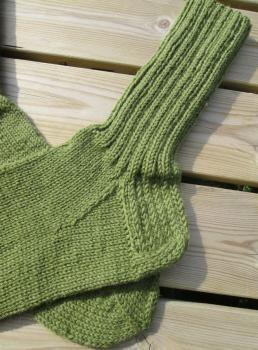Miesten villasukat vihreä 42-44