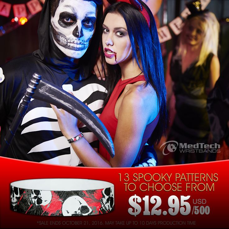 13 spooky Halloween patterns on sale during the month of October. www.medtechgroup.com