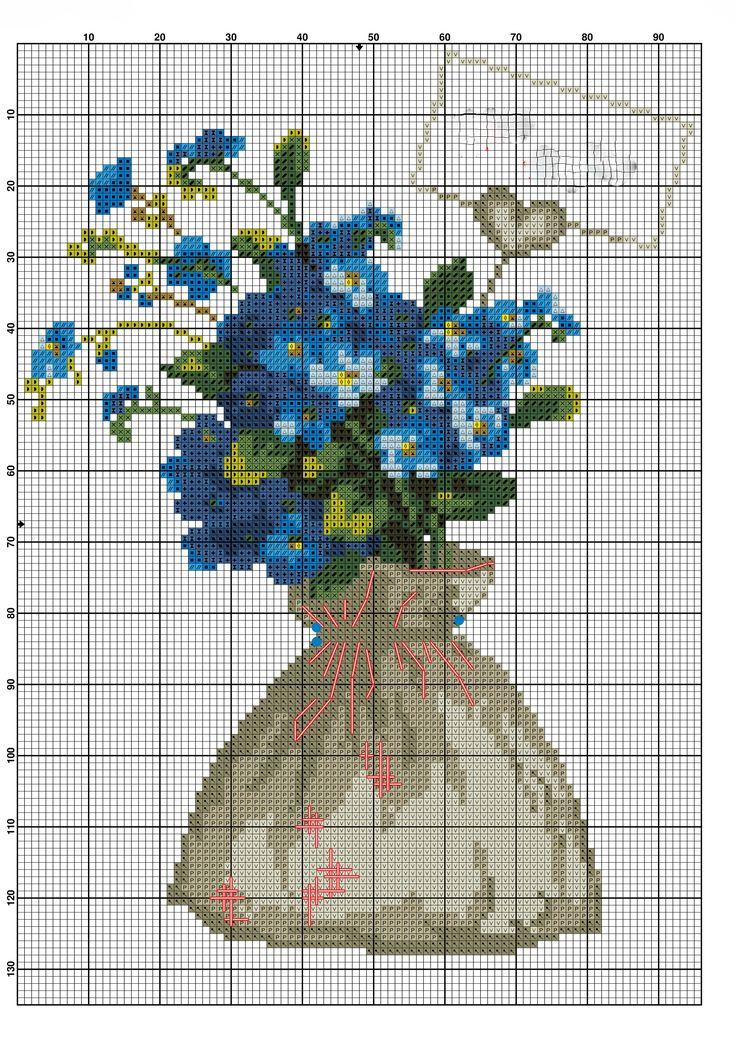 Kanaviçe Çiçek Örnekleri (2)