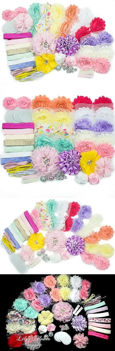 Hair Accessories 18786: Baby Shower Games Party Supplies Station Diy Headband Kit By Jlika - Make 20 ... -> BUY IT NOW ONLY: $34.76 on eBay!