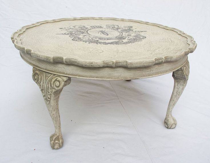 20 Round Shabby Chic Coffee Table - Luxury Home Office Furniture Check more at http://www.buzzfolders.com/round-shabby-chic-coffee-table/
