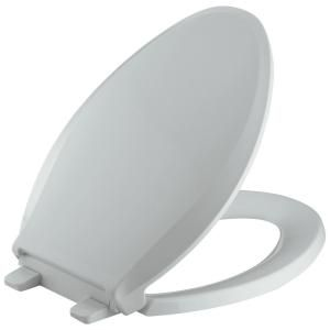 toilet seat 17 x 14. KOHLER Cachet Quiet Close Elongated Closed front Toilet Seat with  Grip tight Bumpers in Ice Grey Best 25 toilet seats ideas on Pinterest Bathrooms suites