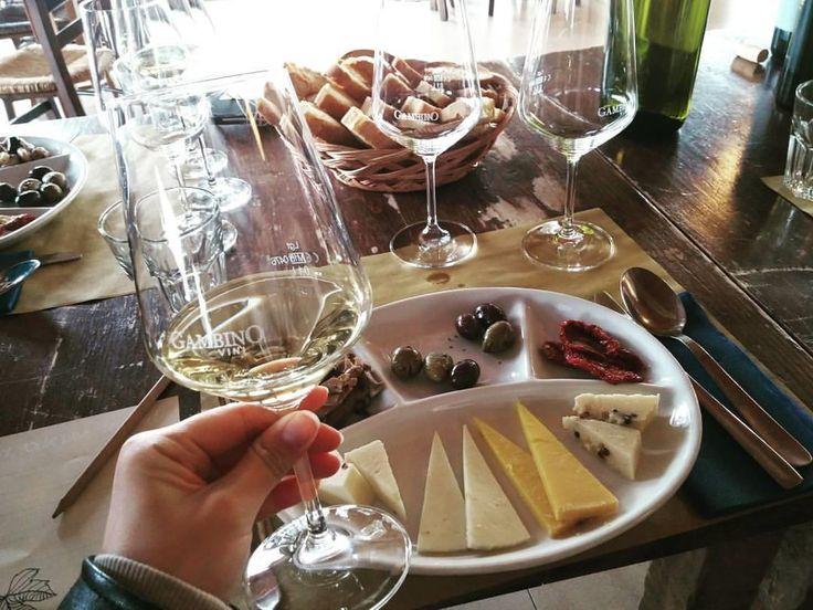 이탈리아에서의 첫 와이너리 투어! 에트나산을 오른 후의 와인이라 더 꿀맛! 화이트와인  레드와인  에트나 올리브오일 1병씩 사버림!!ㅋ _ #이탈리아 #시칠리아 #에트나 #와이너리 #여행 행복 시칠리이분들너무나친절하고좋다  #vino #wine #etna #winelover #instasicily #igsicilia #vineyard #sicily #winery #vigneto #winerytour #gambinovini #winetasting #winetourism #vinery #cellar #grapewines #whatsicilyis #igcatania #igsicilia #igsicilia #winemakers #ilovewine #wineoclock #grapevines  이탈리아에서의 첫 와이너리 투어! 에트나산을 오른 후의 와인이라 더 꿀맛! 화이트와인  레드와인  에트나 올리브오일 1병씩 사버림!!ㅋ _ 이탈리아 시칠리아 에트나 와이너리 여행 행복…