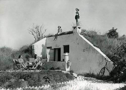 Vakantie in Duitse bunker / Celebrating holidays in German bunker