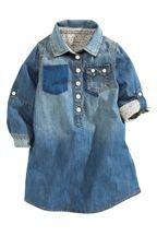 Denim Shirt Dress (3mths-6yrs)