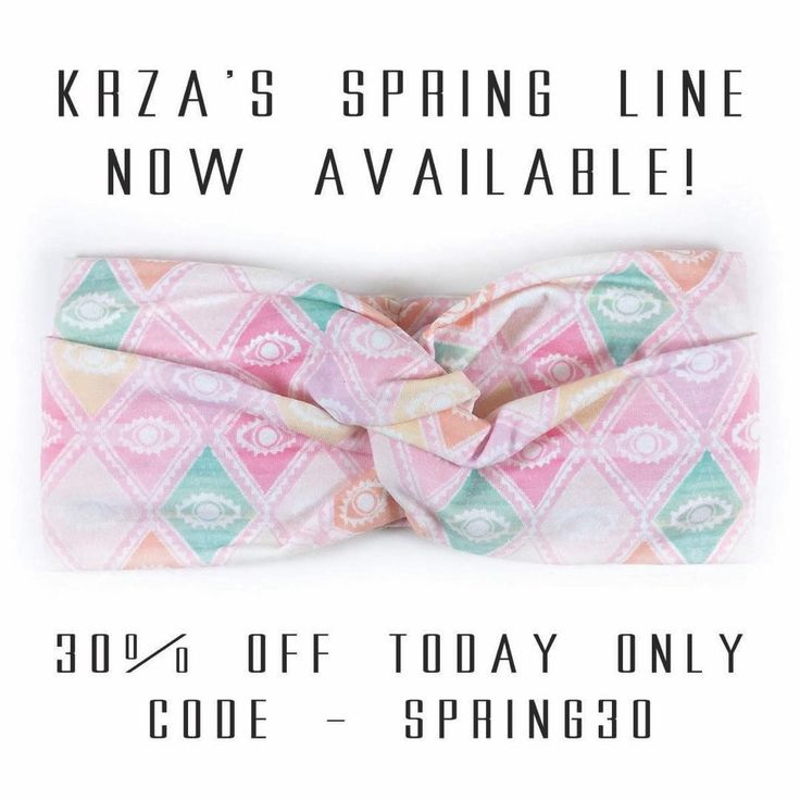 Go check out @kkrzaa and her one day SALE to celebrate the launch of her Spring Line 🌼 I love these headbands on Melody! happy baby happy mom 😉 use code SPRING30 for 30% off today only!! #krza #krzababe #krzakids #mom_hub #headbands #handmade #supportsmallbusiness