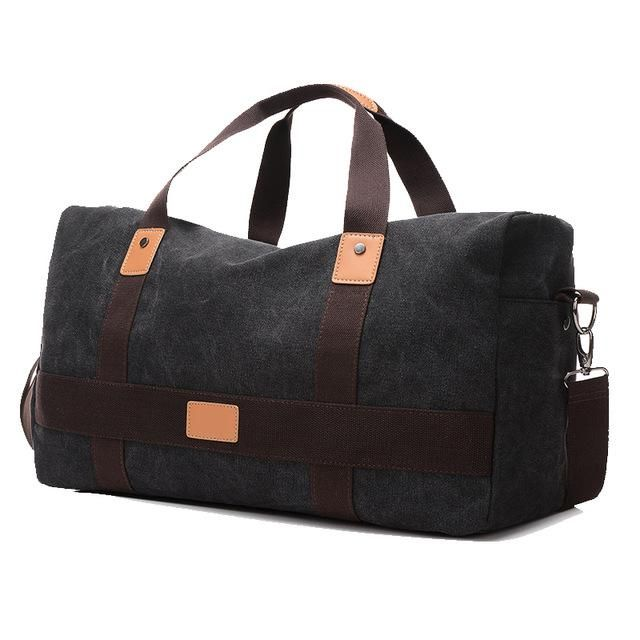 Aosbos Training Gym Bag Men Women Canvas Sports For Fitness Outdoor Traveling Storage Handbags Durable