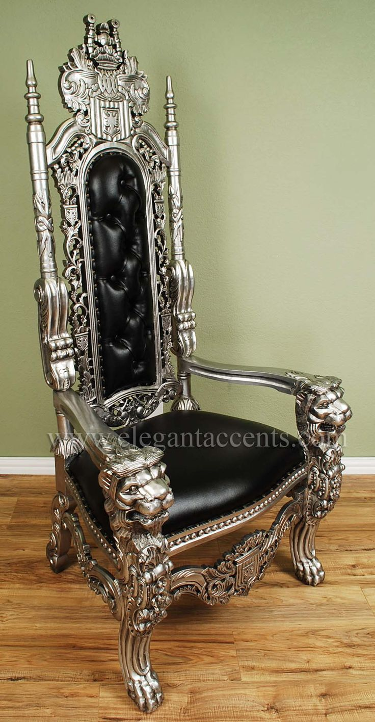 17 Best Images About Throne Chairs On Pinterest Vinyls