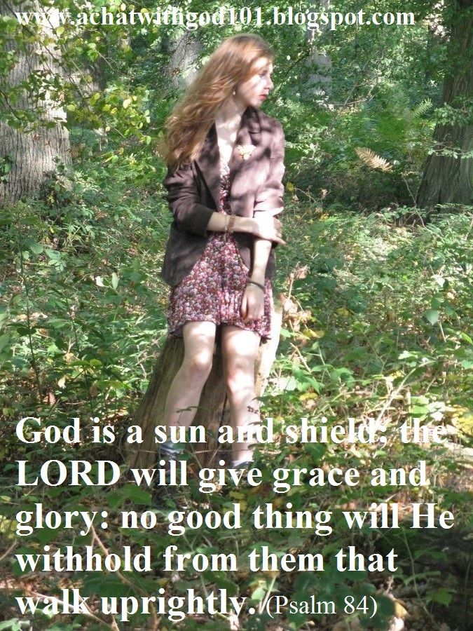 GOD IS A SUN AND SHIELD