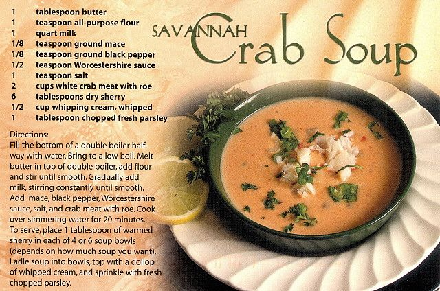 She crab soup recipes with sherry