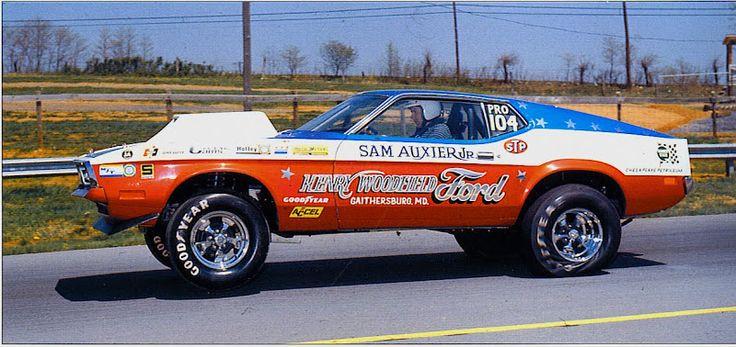 Sam Auxier Jr 71 Mustang Vintage Mustang Dragsters
