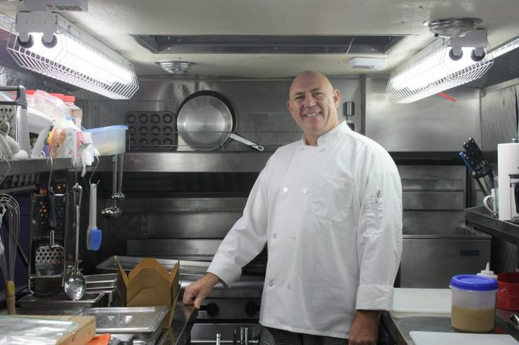 Chef Baron Klaus Erich von Hochgotz or K&J Food Truck Sept.30/14 Kitchen Party, #connectedwoman
