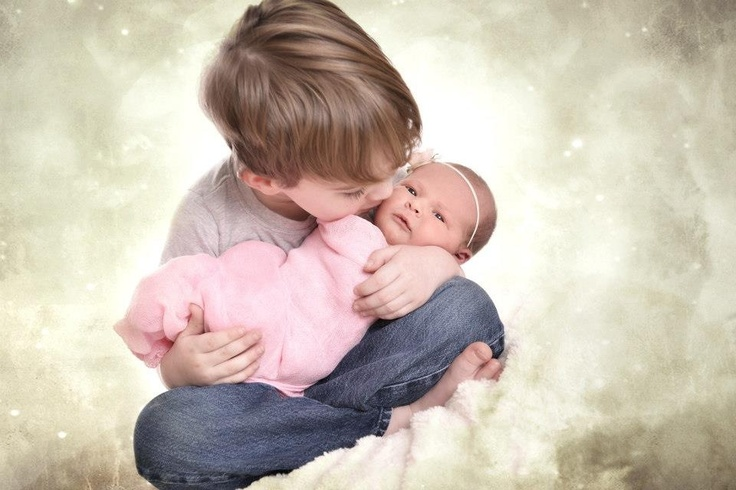 Baby sister and big brother-9871