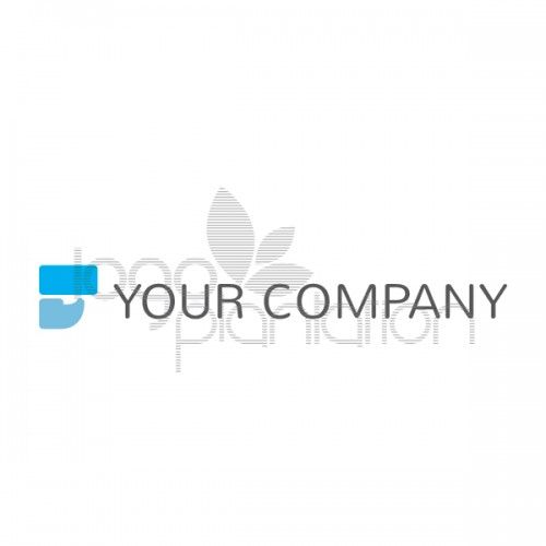 This logo is of a rectangle above a comma shape. Located to the left of the company name. The logo is supplied with Open Source Google Fonts. The file formats provided is EPS. See more at http://www.logoplantation.com/shop/abstract-t-shape/