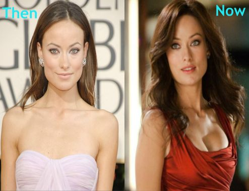 E Breast Implants Before And After Olivia Wilde has done ...