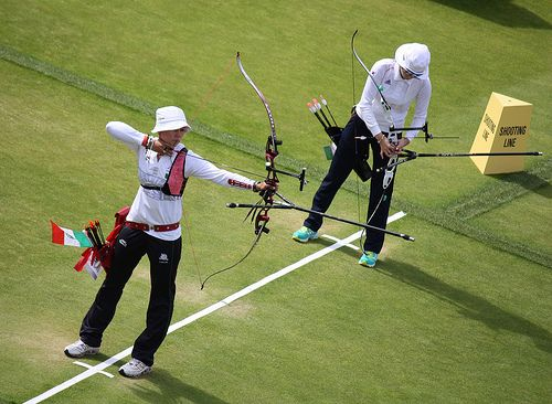 Olympic Archery - Women's Individual Final Aida Roman (Mexico) vs Ki Bo Bae (South Korea)