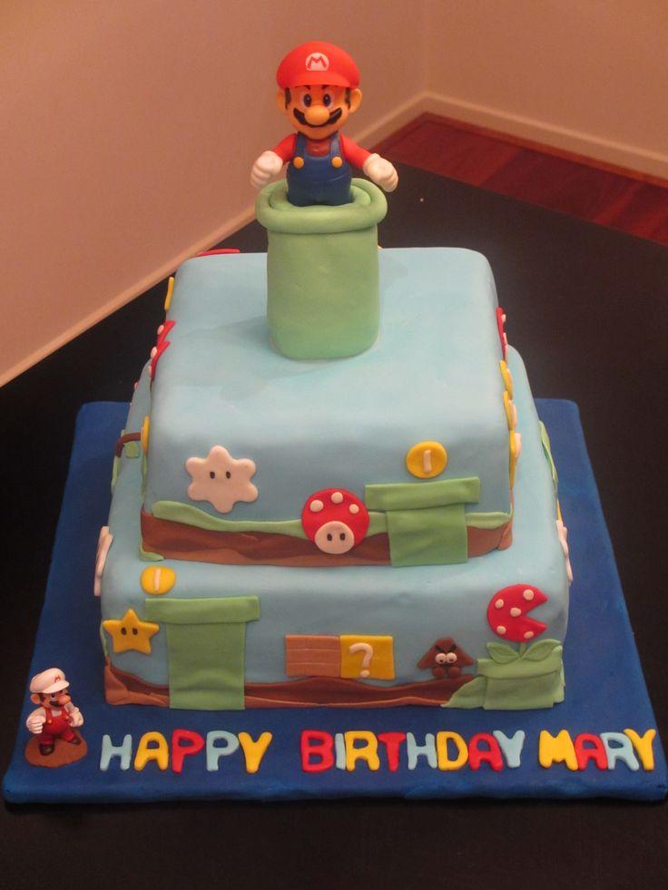 Mario Brothers Cake!