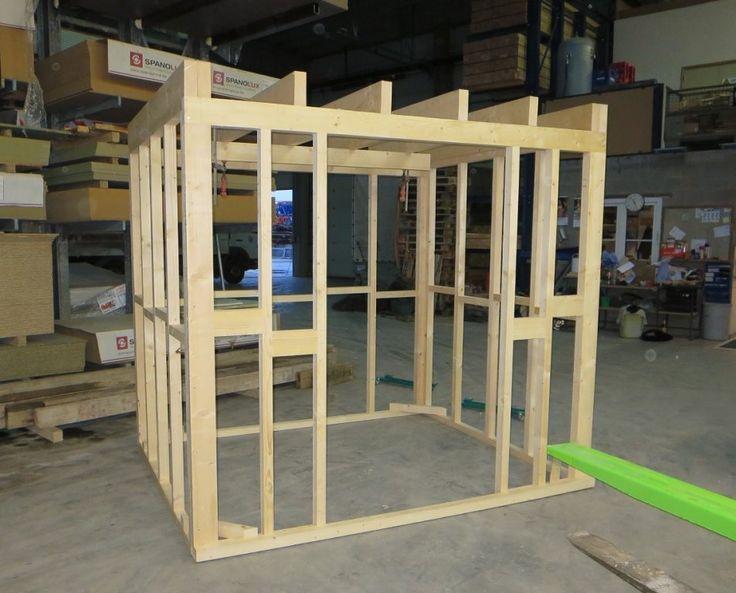 houtskeletbouw tuinhuis - Google zoeken | Tuinhuis ...