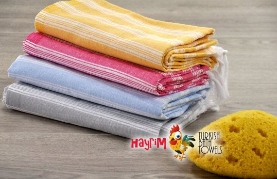 Set of 4  Discount Towels Honeymoon Cover Up Baby Gift by Hayrim