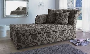 Chaise langue with a bit of floral