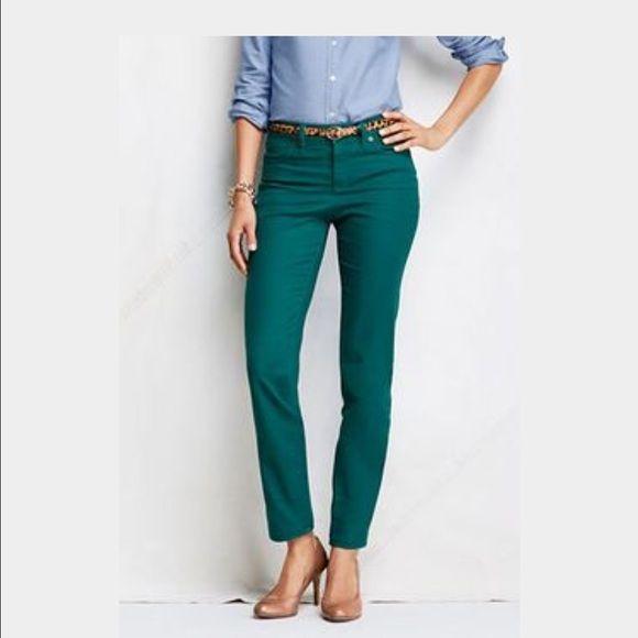 Dark Turquoise Skinny Pants New stretchable skinny Pants Celebrity Pink Jeans Skinny