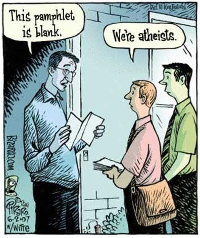 AtheistDoors, God, Laugh, Comics Book, Atheism, Faith, Religious Humor, Funny Stuff, Atheist