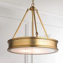 Американская все медные люстры Джейн европейских ретро гостиной спальня лампа светодиодная люстра круговой гостиной в европейском стиле из кованого железа люстра сосать
