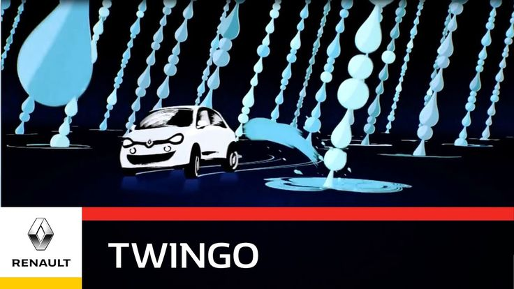 Renault Twingo - Raindrops - Go Anywhere, Go Everywhere!