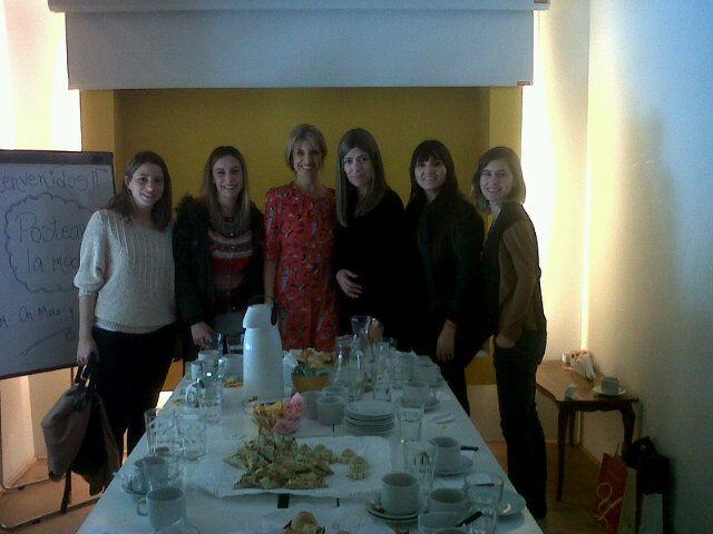 Finalizando el 1er encuentro @PostearLaModa ♥Diosas♥ http://yfrog.com/es78ynqzj