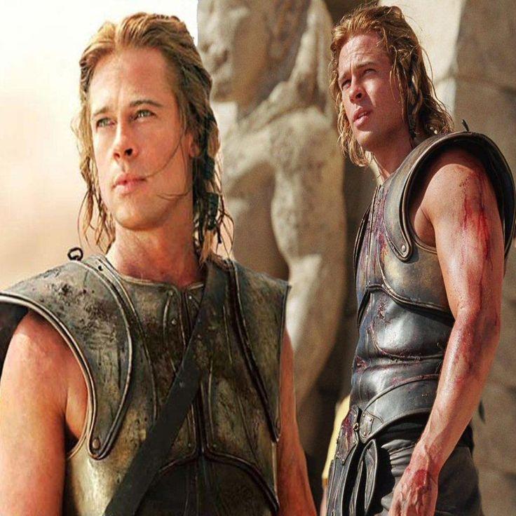 Brad Pitt, Troja   Actori