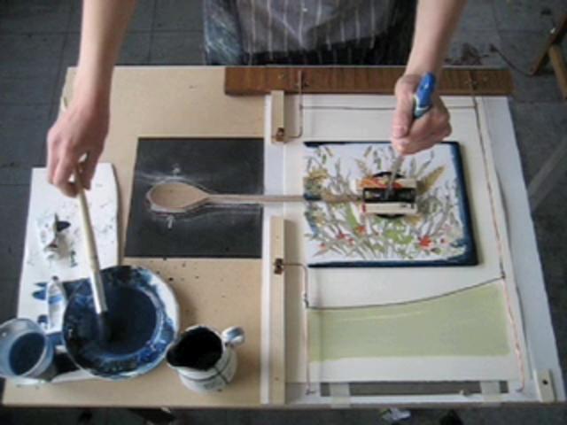 Fruit Bowl Assembly Line by Helen Murgatroyd