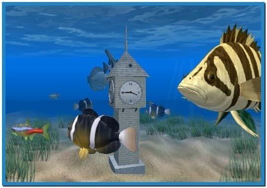 Goldfish Aquarium Screensaver 1 02