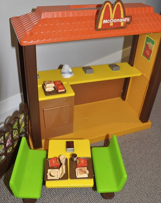 Barbie McDonald's. I loved this so much, I'm posting it  twice.