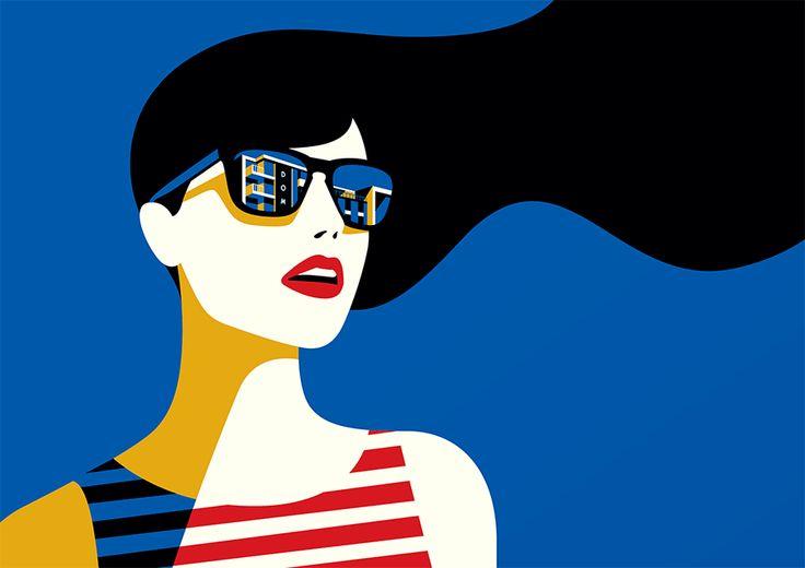 O estilo minimalista ousado da francesa Malika Favre – Design Culture