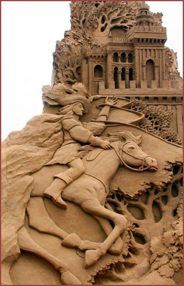 Awesome Sand Sculptures..def a wow