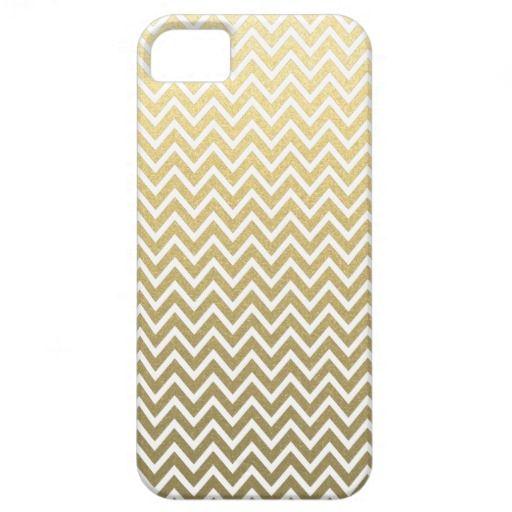 ゴールドのシェブロン模様 iPhone 5/5Sケース。 #zazzle #iphone #ゴールド