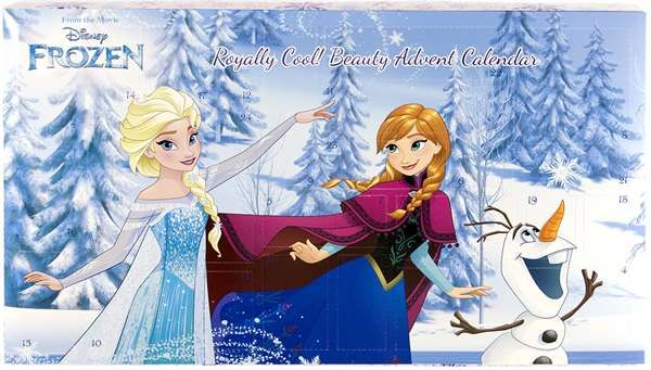 Julaftonsmorgon : Adventskalendrar från Disney