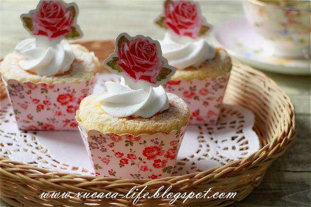 Japanese Hokkaido Cake Recipe: Hokkaido Chiffon Cupcakes Images On