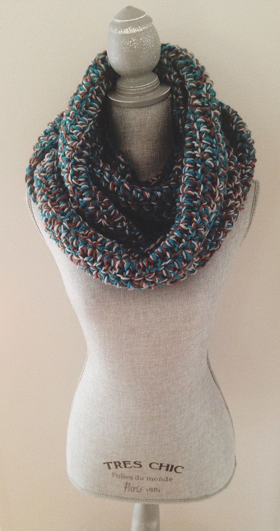 Central Park Infinity Scarf by AddieBooAccessories on Etsy